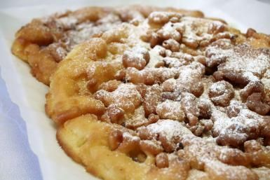 This Non-Yeast Version of Polish Doughnuts Can Be Made Into Funnel Cakes: Funnel Cakes