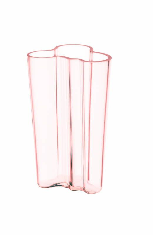 Alvar Aalto Collection - Aalto Vase Salmon Pink 201 mm