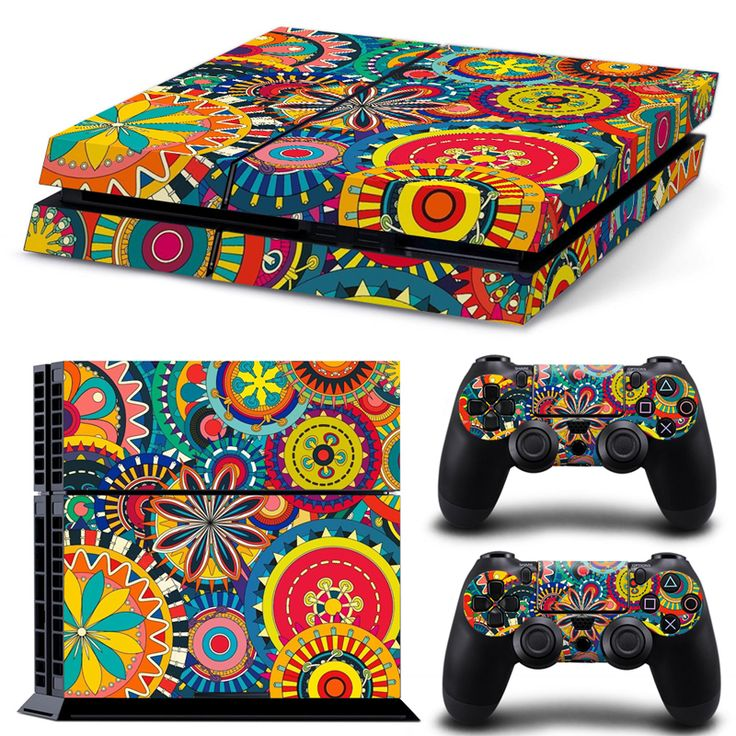 >> Click to Buy << colorful desisn and top quality cheap price style skin sticker for PS4 console and two controllers skin  #TN-P4-1527 #Affiliate