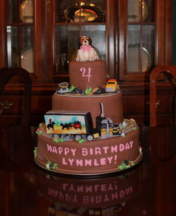 Bandit Dog Th Birthday Cake