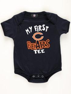Motherhood Maternity Chicago Bears Newborn Baby Bodysuit