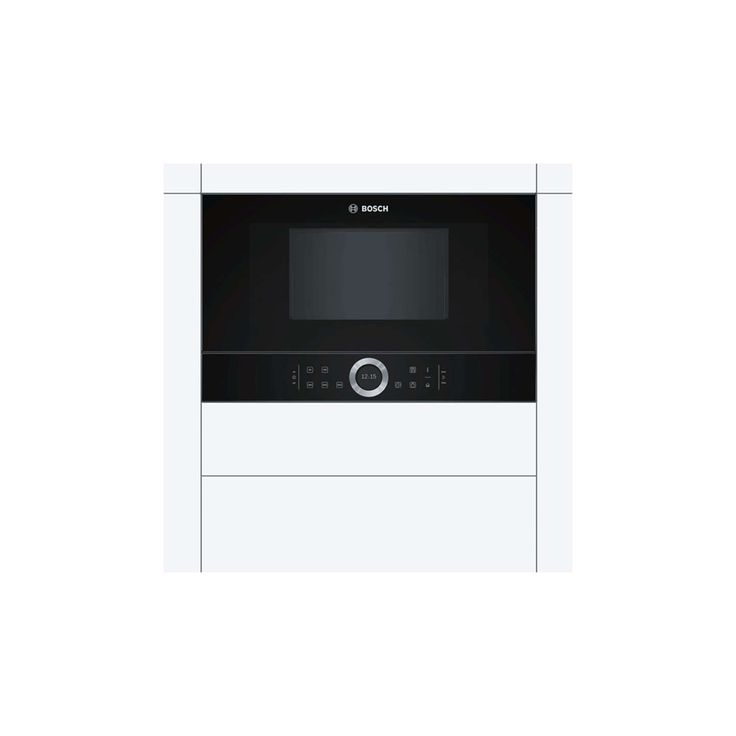 bosch bel634gs1b builtin microwave oven with grill black stainless steel