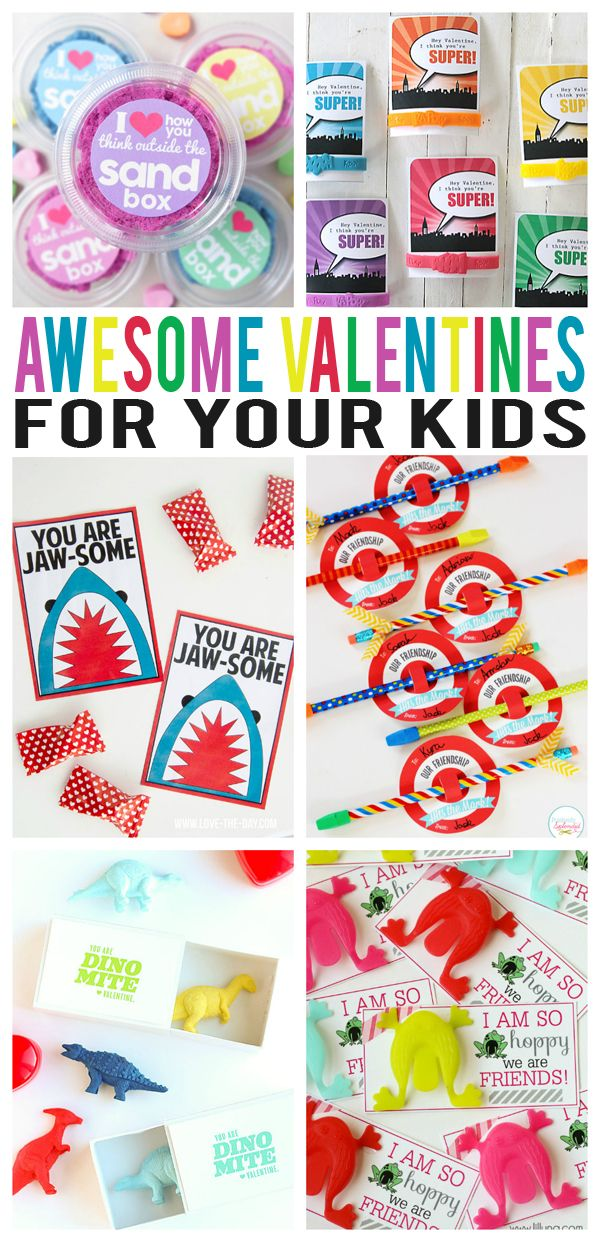 It's about that time! Valentine's will going out to classmates and friends in about 2 weeks. So if you are the type that likes to do something a little extra fun… we've gathered some great ideas for you to check out today. Kinetic Sand Valentine | Smart School House Disney Frozen Valentines | Simple …