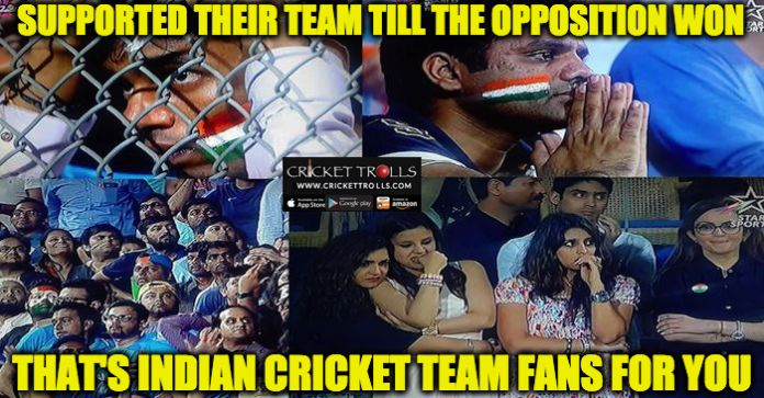 #WT20 #INDvsWI #T20WorldCup #ICCT20WC #T20I  Dejected Indian Cricket Team fans at Wankhede stadium​  http://www.crickettrolls.com/2016/03/31/dejected-indian-cricket-team-supporters-ind-vs-wi-wt20-2016/