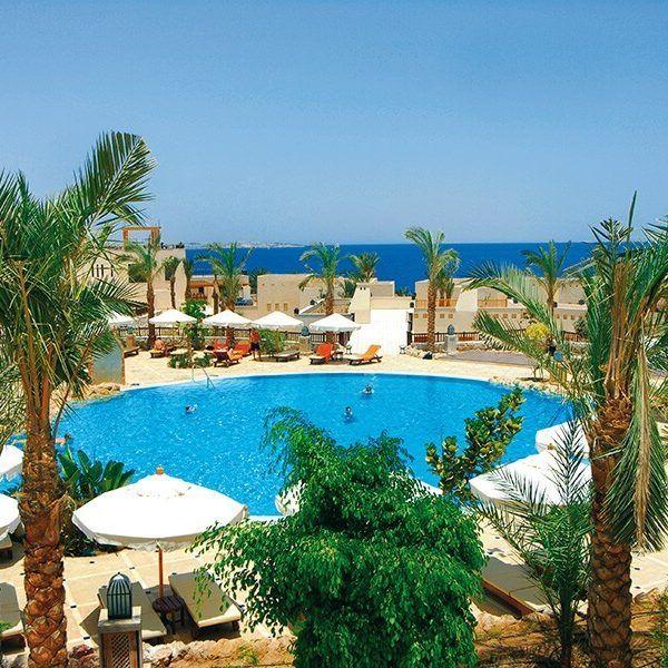 Отель The Grand Hotel Sharm El Sheikh построен в 2008 году. Расположен в бухте Рас Ум Сид, примерно в 15 минутах от Наама Бэй и в 30 км от аэропорта. Отель The Grand Hotel Sharm El Sheikh подойдет для спокойного отдыха. Входит в одну из крупнейших цепочек отелей Red Sea Hotels, включающую отели в Хургаде, Макади и Шарм Эль Шейхе, их чертой есть большие по протяженности пляжи, идеально ухоженная зеленая территория с садами и фигурными бассейнами.  Имеется 10 бассейнов (из них 2 детских)...