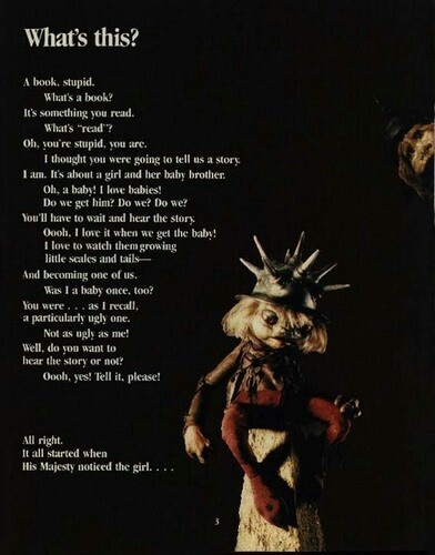 """""""What's this?"""" Labyrinth told from the perspective of Jareth's goblins. #labyrinth"""