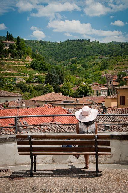 Greve in Chianti No se cansa uno de mirar el paisaje