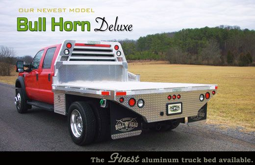 Bull Head Deluxe Aluminum Truck Bed