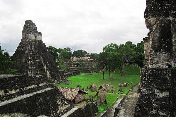 Тикаль — крупнейший город цивилизации майя Гватемала
