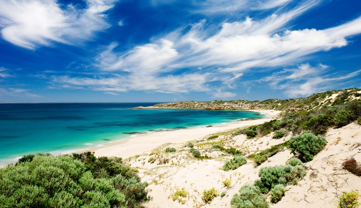 Butlers Beach on the Yorke Peninsula, #SouthAustralia, #Australia. #travel.