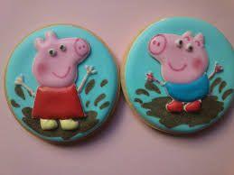Resultado de imagen para peppa la cerdita en cupcakes