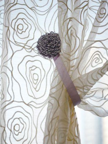 カーテンタッセル マグネットタッセル 3色展開 :インテリアショップ ... Curtain Tassel カーテンタッセルマグネットタッセル
