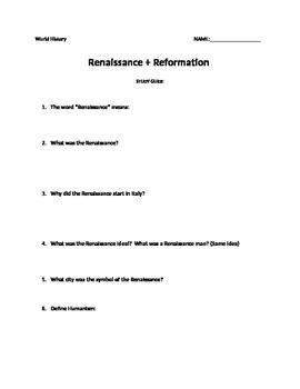 Renaissance essay prompts