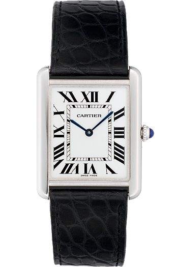 Cartier Tank Watch - Since the watch was conceived by Louis Cartier in 1917 the French firm continuously made a version of the original style.