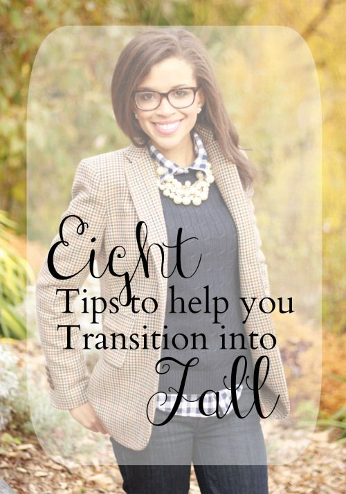 Eight tips to help you transition into fall