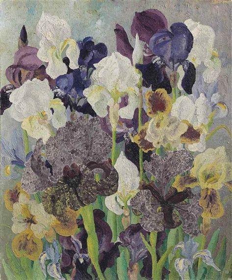 Sir Cedric Morris: May Flowering Irises No. 2