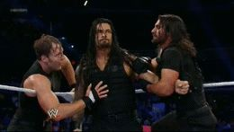 THIS WAS SO AWESOME TO WATCH... ALTHOUGH I WOULD'VE LET ROMAN GO!!!!!!!!!!!!!!!!!!!!!!!!!!!!!!!!!!!!!!!!!!!!!!!!!!!!!!!!!!!!!