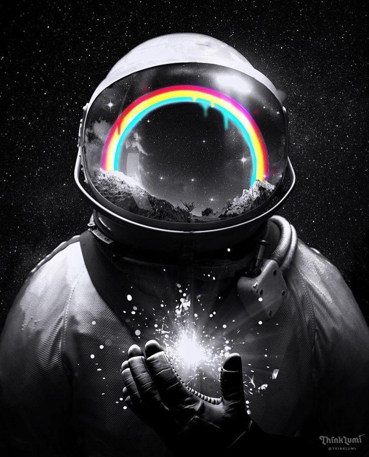 Meditating AstronautBracelet in 2020 Iphone wallpaper