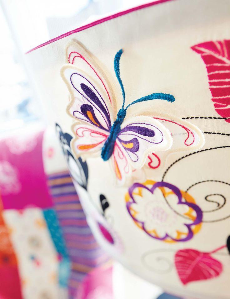 Lampshade embroideries   DESIGNER TOPAZ™ 40