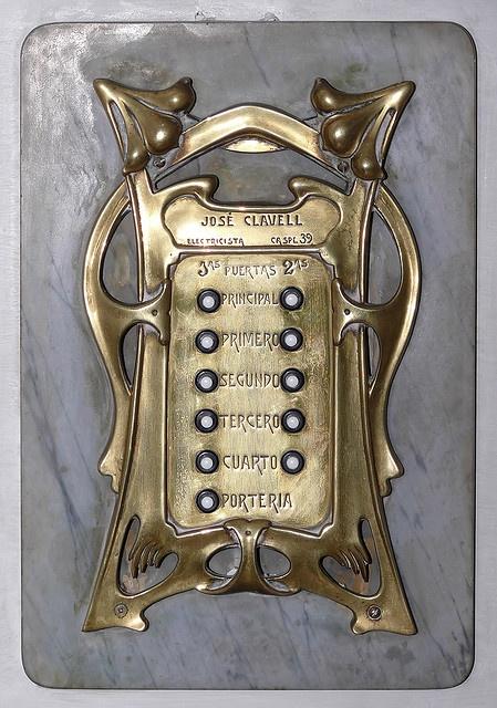Barcelona - awesome doorbell?