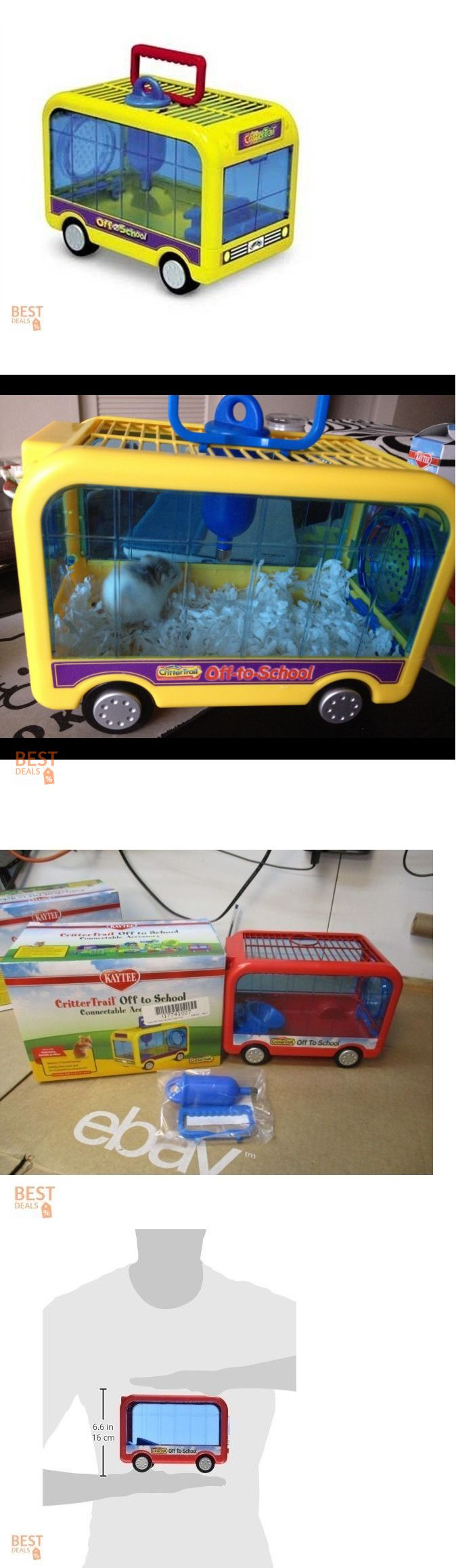 Carriers and Crates 26702: Plastic Hamster House Small Animal Carrier Portable Pet Mouse Cage Travel Crate -> BUY IT NOW ONLY: $34.99 on eBay!