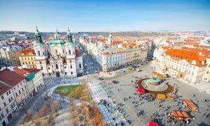 Groupon - Prag: 2 bis 5 Tage für Zwei mit Frühstück und Welcome Drink im 4* Hotel Voyage ab 36 € in Prag 3. Groupon Angebotspreis: 36€