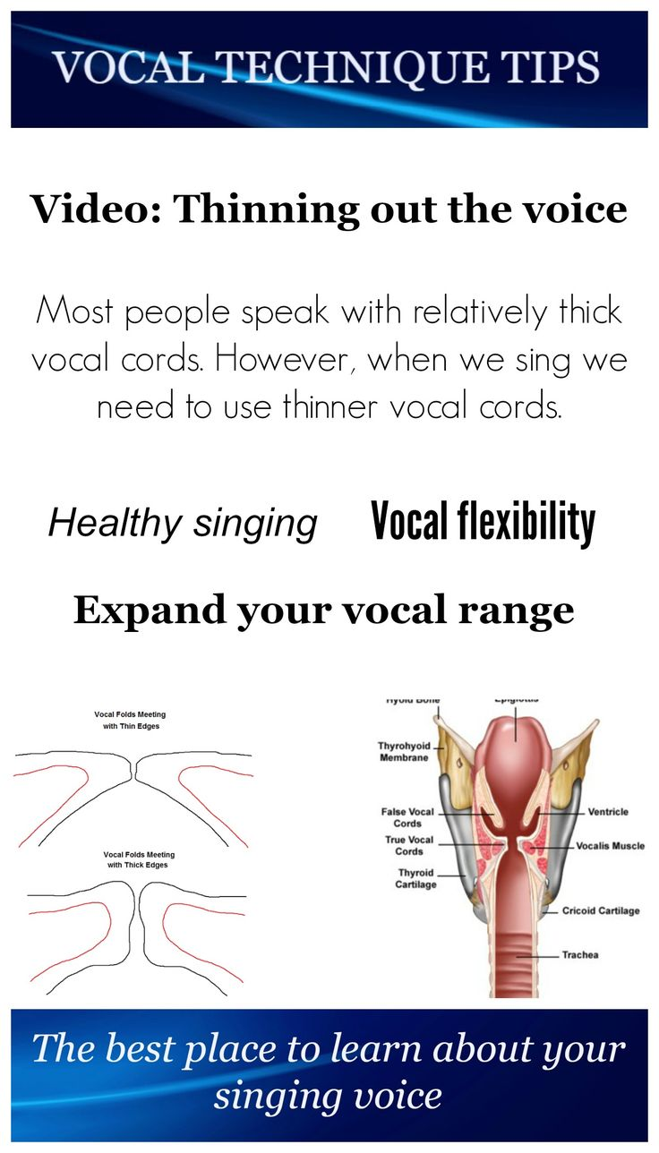 how to make your voice sound better when singing