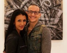 Chester Bennington and wife Talinda | Chester & Talinda on Pinterest | Chester Bennington, Linkin Park and ...