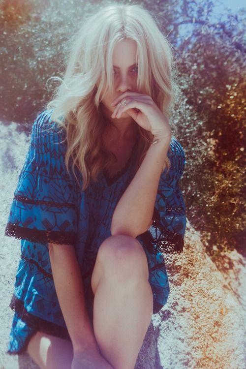 Hannah @ Wilhelmina for Chloe Oliver shot by Lucas Passmore