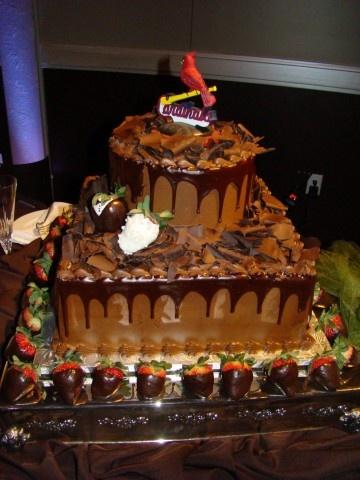 stlouis cardinals grooms cake