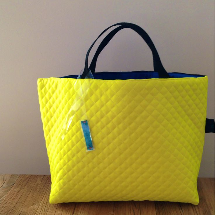 stiched tote bag