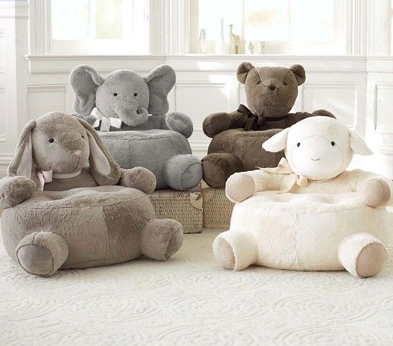Critter Chair Collection | Pottery Barn Kids- so stinking cute! - I want to get Emily the elephant!