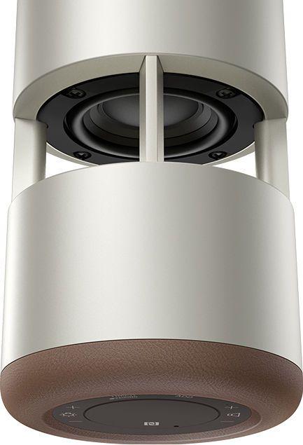 テーブルに溶け込む「音の器」 Glass Sound Speaker