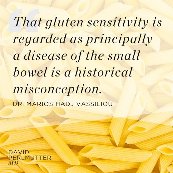There can be a multitude of ways in which your body tries to tell you it doesn't like gluten. We must think outside of our guts.