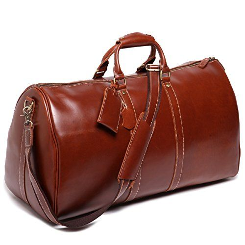 Leathario Genuine Leather Overnight Travel Duffle Bags for Men Leathario Leather Travel Bag http://www.amazon.com/dp/B00T703IUI/ref=cm_sw_r_pi_dp_cC4zwb0DF2Z63