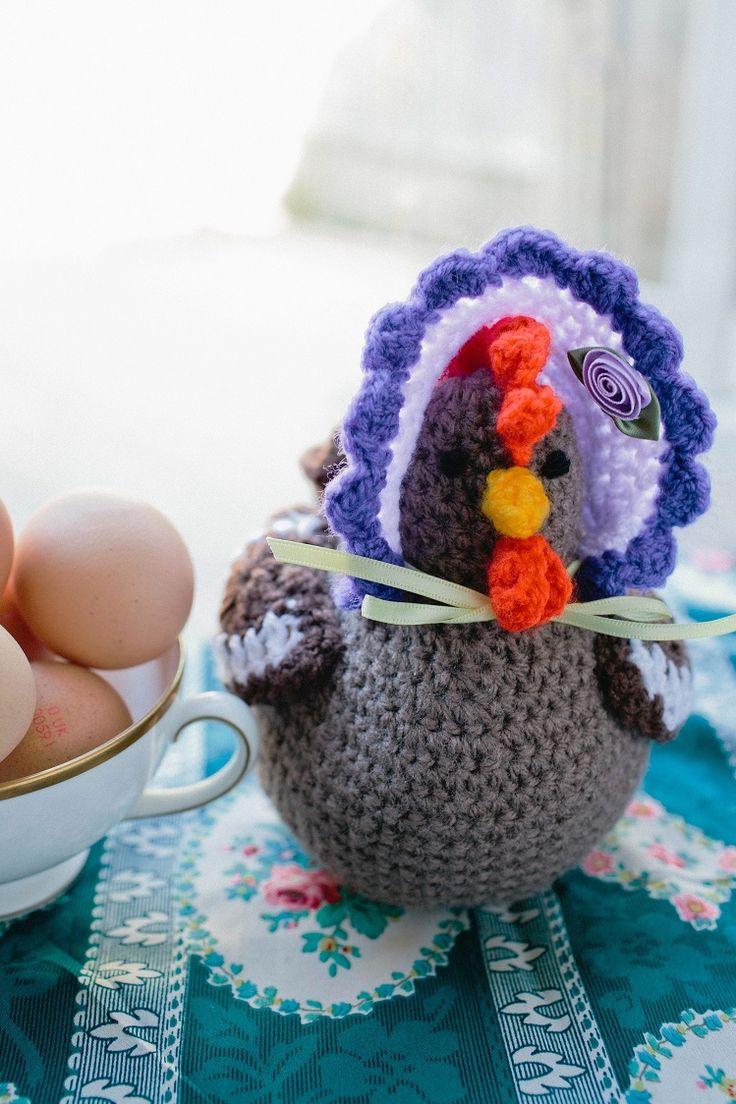 Mejores 39 imágenes de Crochet Hens and Chickens en Pinterest ...