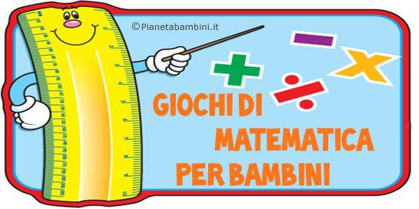 Giochi di matematica per bambini di 6-7 anni da stampare gratis