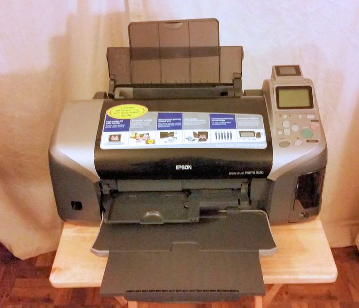 EPSON Stylus Digital Photo Printer Model No. R320 Inkjet Photo Printer #Epson