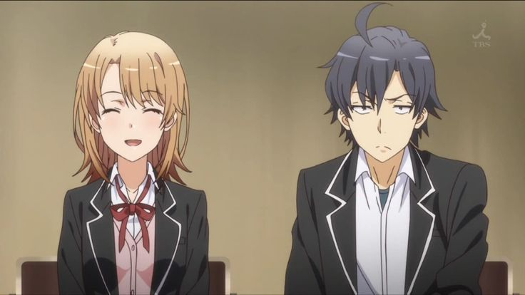 Isshiki Iroha and Hikigaya Hachiman