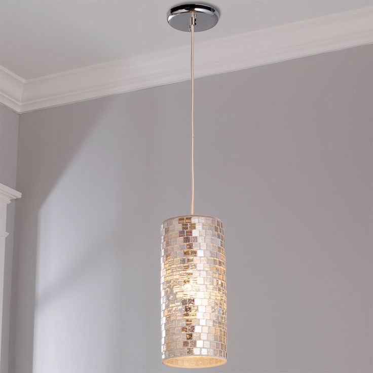 Glass Mosaic Cylinder Pendant In 2019