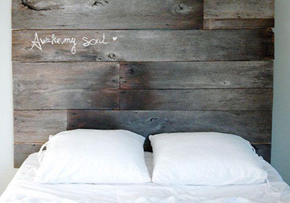 Fabriquer une tête de lit en bois