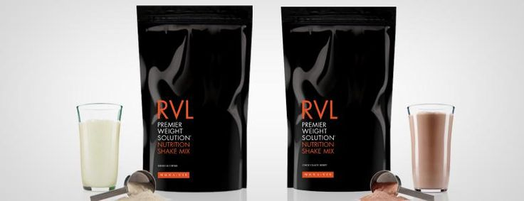 RVL - Nutrition in two flavors... Vanilla and Chocolate