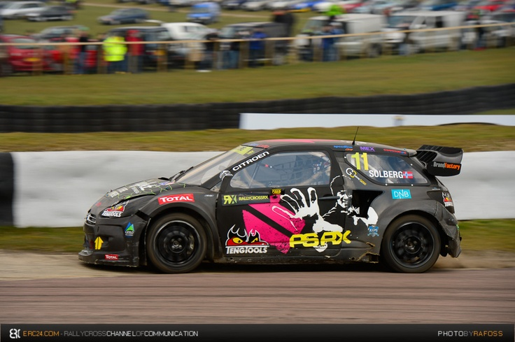 Petter Solberg - Citroen DS3 RX   Europan Rallycross Championship 2013 - Gran Bretaña