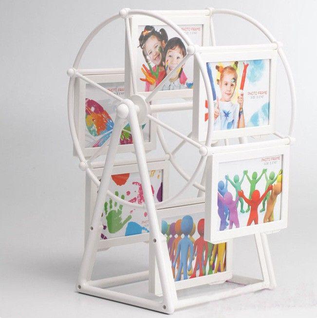 """Фоторамка """"Колесо обозрения"""" №118  Уникальные рамки для фотографий в виде колеса обозрения. Выполнено из высококачественного пластика. Такое колесо станет отличным подарком в честь праздника ребенку, а также его родителям. Но наверняка, еще больше такой подарок оценят дедушки и бабушки, чьих фотографии внуков там будут помещены.  #фоторамка #колесообозрения #декохата #купитьрамкудляфото #необычнаярамкадляфото #декорвввашемдоме #decohata #decor #photoframe #photo"""