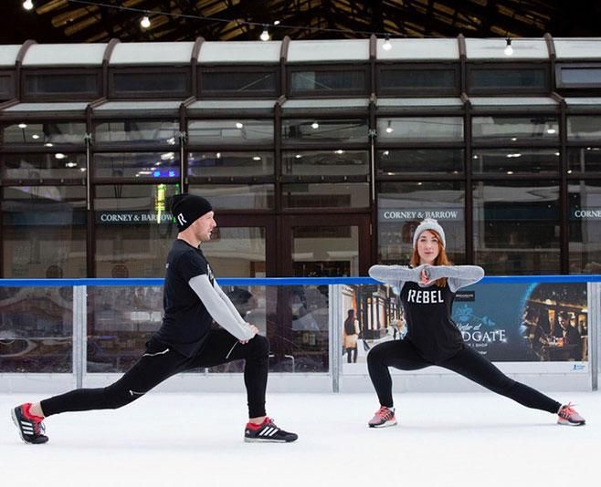 You Ll Only Survive This New Workout If You Can Run Laps On Ice Fitness Trends Workout Hiit Class