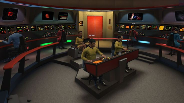 Ubisoft's Star Trek VR game delayed again as original USS Enterprise crew gets added     - CNET  Enlarge Image  You will be able to boldly go to space with the crew from the original Star Trek series.                                                      Ubisoft                                                  Ubisofts Star Trek virtual reality game Bridge Crew is not coming out in March as expected. The publisher announced today that the PlayStation 4 and PC game is now slated to arrive on…