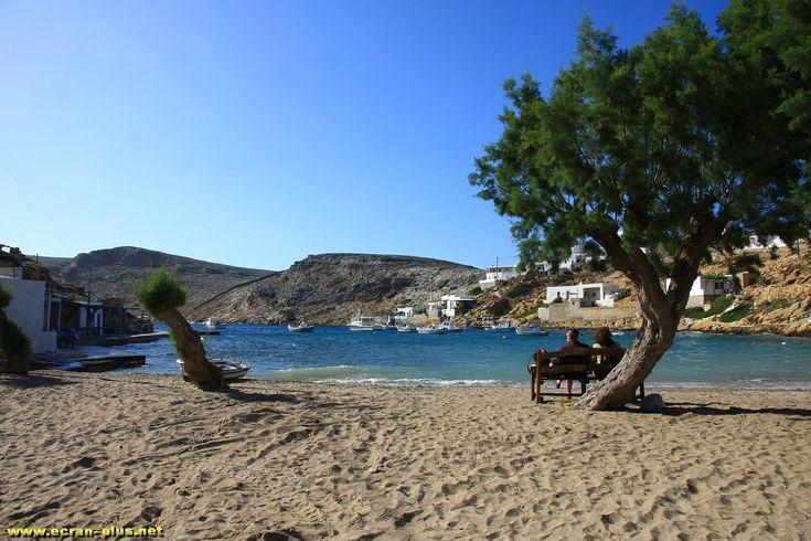 La plage de Cheronisos - Sifnos - Cyclades - Grece