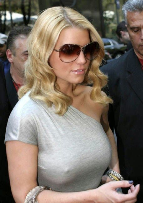 Jessica Simpson Without Bra B A D 1 Pinterest