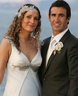 Andrew johns is now married to Catherine Mahoney. Andrew Johns has an eight year old son from a previous relationship named Samuel. together johns and Catherine have another son named Louis.
