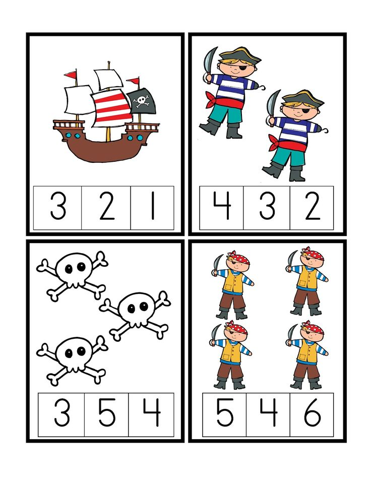 Preschool Printables: Pirate